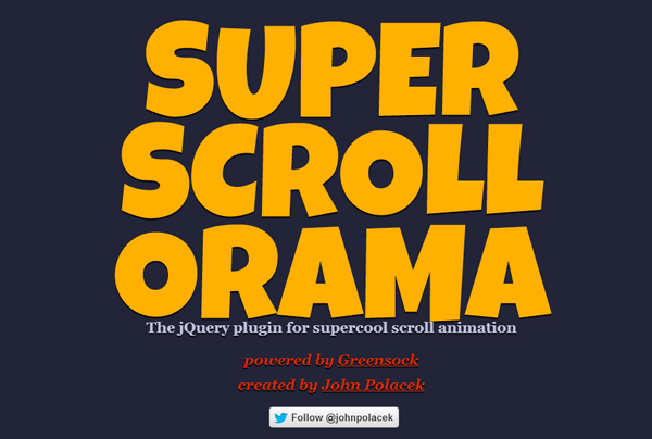 super scroll 5 Best jQuery Plugins for Parallax Scrolling