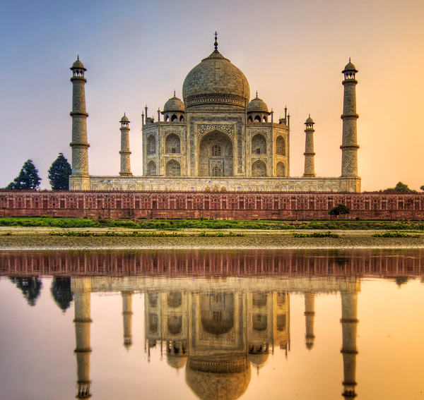 taj mahal india 4 Exotic Countries for Designers' Coworking