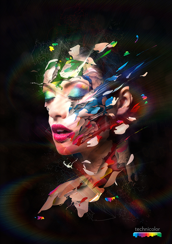 technicolor Fascinating Photo Manipulations by Alberto Seveso