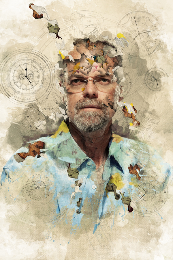 the man who would stop time Fascinating Photo Manipulations by Alberto Seveso