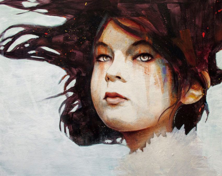 zoe 20 Marvelous Paintings from Michael Shapcott