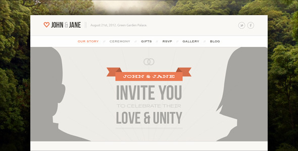 0   large preview1 Top 15 Premium Wordpress Themes for a Wedding