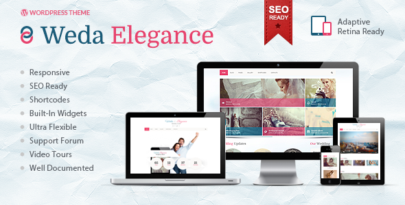 01 preview   large preview11 Top 15 Premium Wordpress Themes for a Wedding