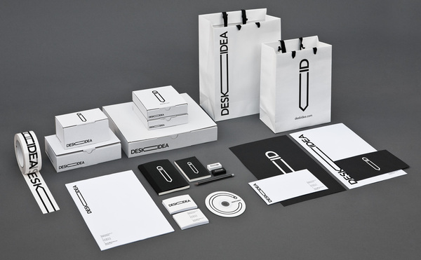 141 60 Professional Examples of Stationery Design