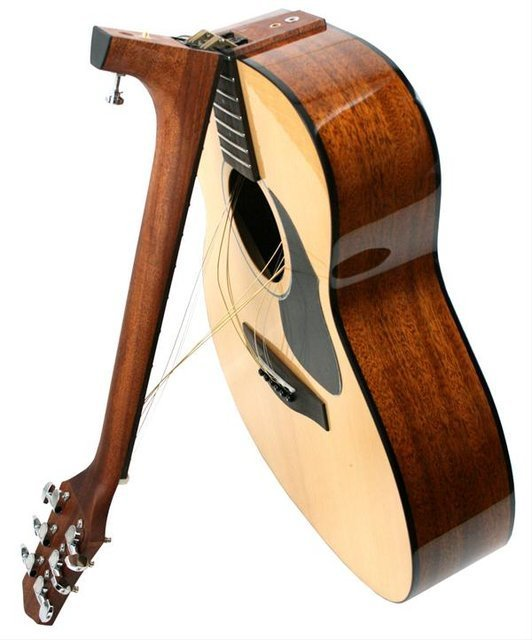 Folding-Neck Guitar by Voyage-Air