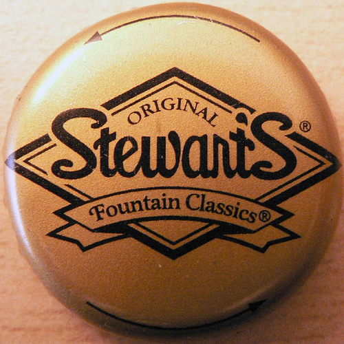 Stewart's bottle cap