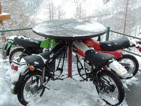 Repurposed old motorcycles