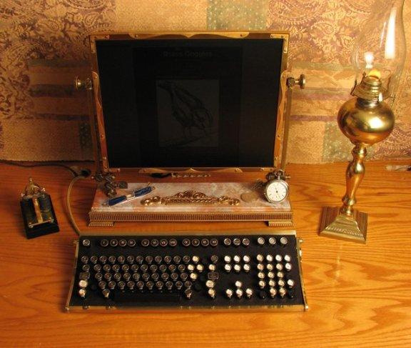 Steampunk PC by Jake von Slatt