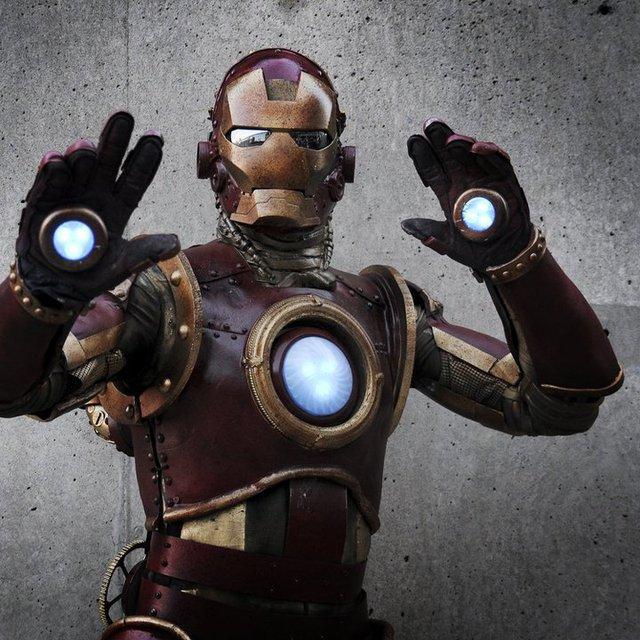Steampunk Iron Man Costume