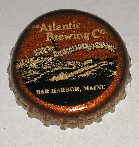 Atlantic Brewing company bottle cap