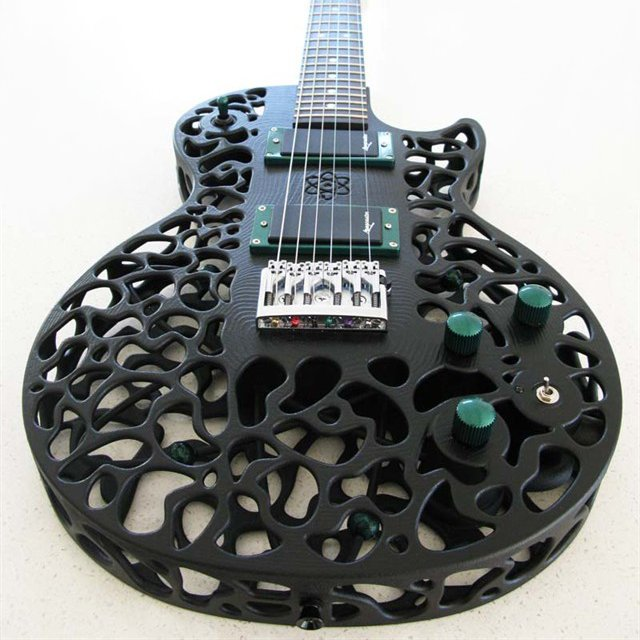 3D-Printed Guitar by ODD Guitars