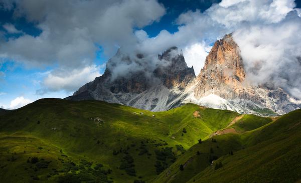Dolomites After Storm