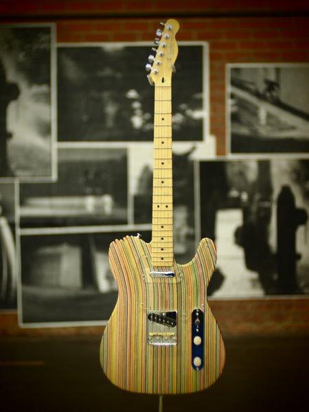 HUF x Haroshi x DLX Guitar