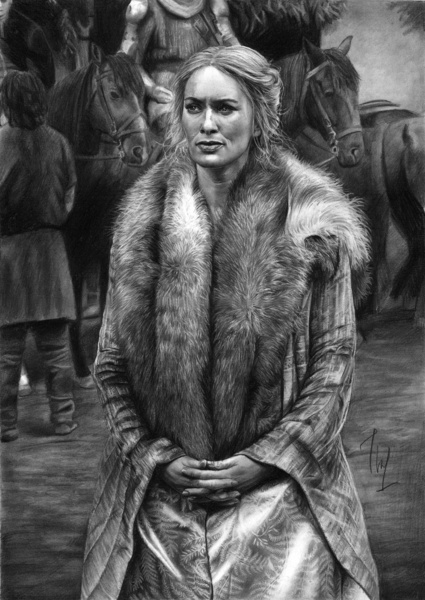 Game of Thrones - realistic pencil drawing by Thubakabra