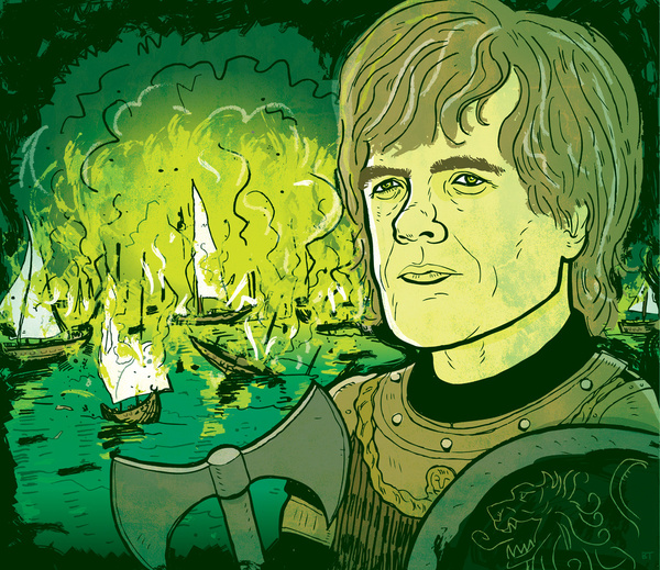 Game of Thrones by Brian Taylor Illustration