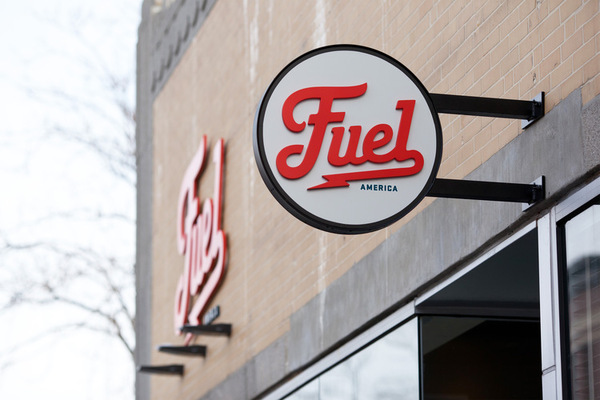 Fuel Signage by Commoner, Inc.