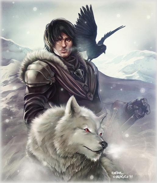 Jon Snow by Dr-Salvador