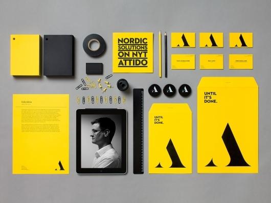 Attido Brand Identity & Stationery
