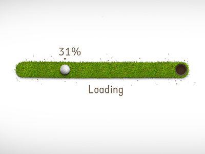 Progress bar by Denis Perepelenko Follow