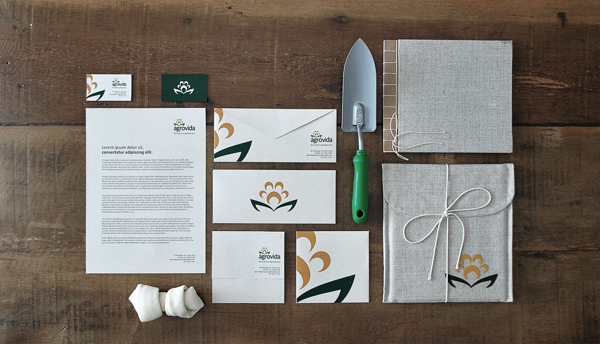 411 60 Professional Examples of Stationery Design