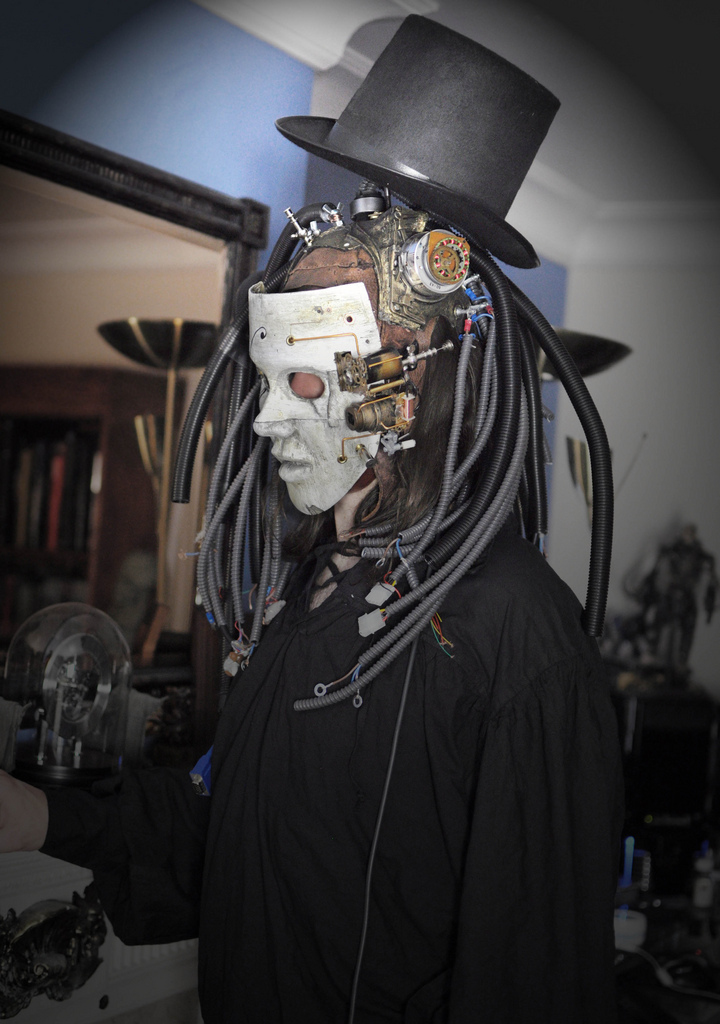 Steampunk Mask by The Dark Power