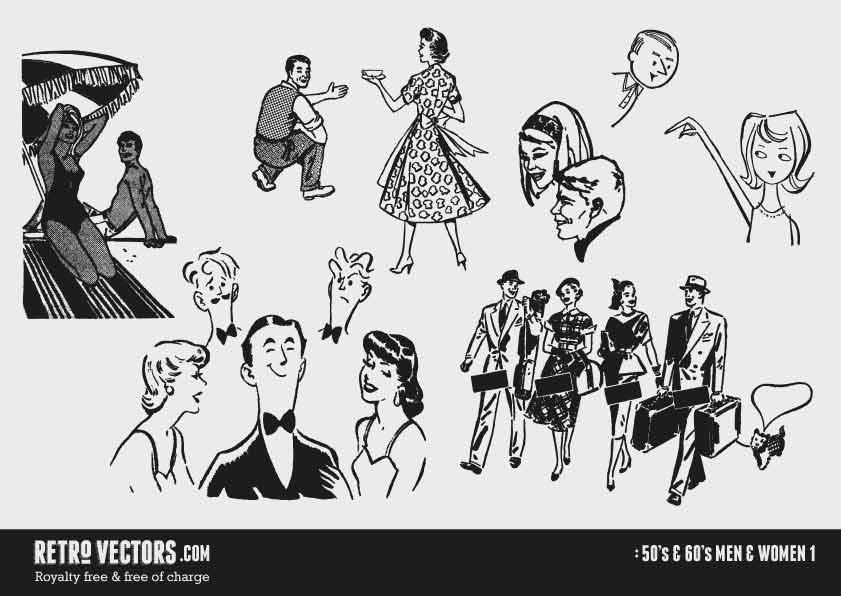 50s/60s Men & Women