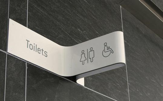 Creative Toilet Sign