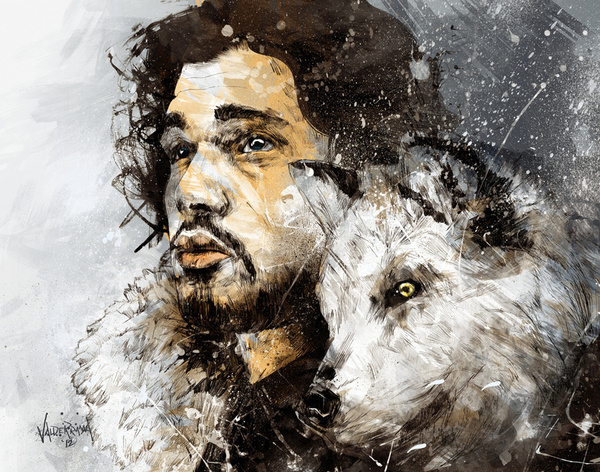Beyond the Wall by Fresh Doodle