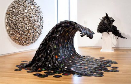 555894 10151307990904503 178846853 n1 Trash to Treasure: 40 Creative Recycled and Repurposed Artworks