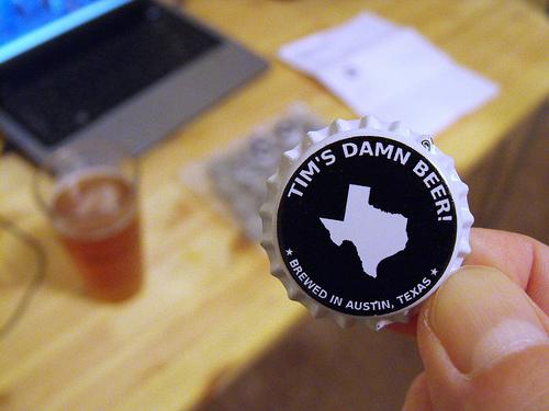 Custom Bottle Cap by Tim Patterson