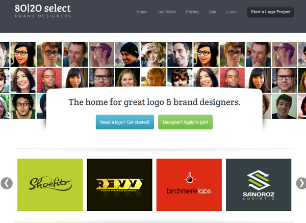 8020select 25 Beautiful and Inspiring Websites Using Bootstrap
