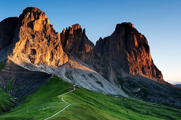 Dolomites mountains 2008