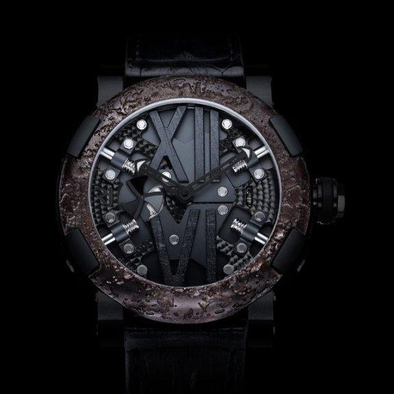 Titanic Steampunk Black Watch By Romain Jerome