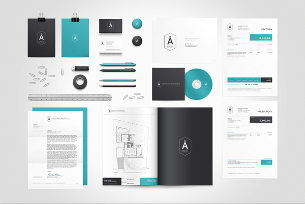 60 Professional Examples of Stationery Design | Inspirationfeed