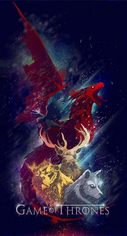 Game of Thrones Sigils by Jig Ignacio