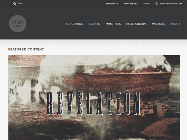 atheycreek 25 Beautiful and Inspiring Websites Using Bootstrap