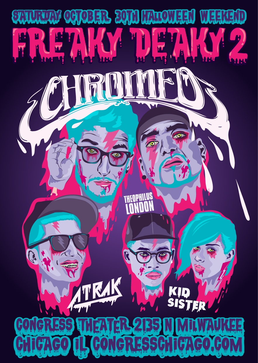 Chromeo Flyer