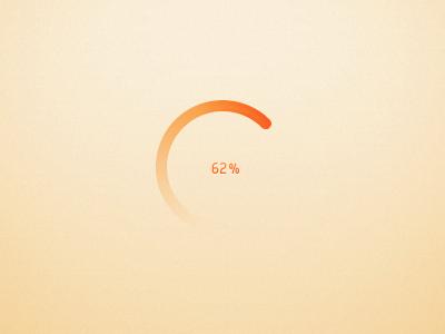 Circular progress bar by Arnaud Thuillier Follow