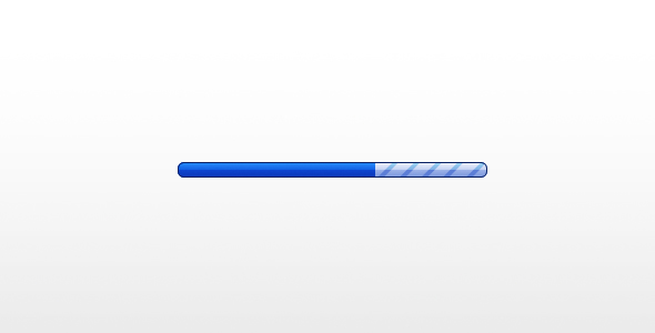 Simple Clean Progress Bar by Jamie Barton