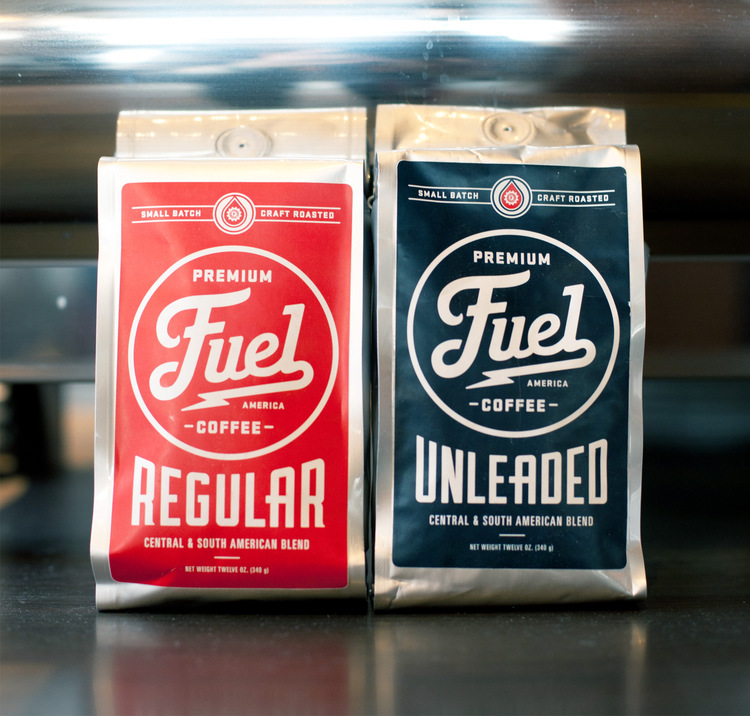 coffee Branding Ascendancy: Fuel Coffee Shop in Brighton, MA.