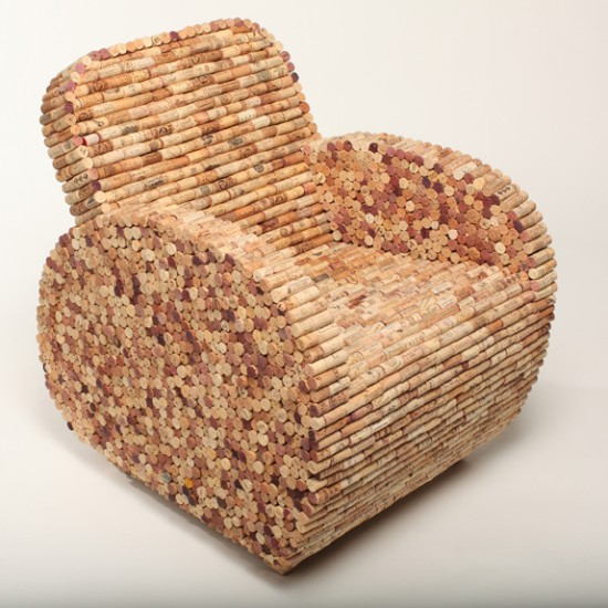 Cork Chair by Aaron Kramer