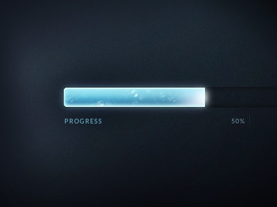 Animated CSS Progress Bar by Sascha Michael Trinkaus