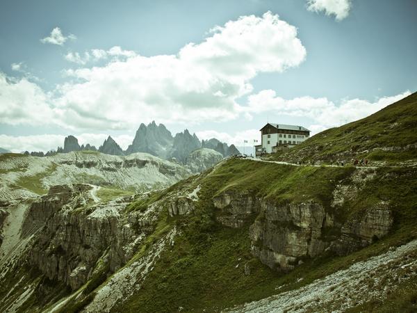 The Dolomite Alps