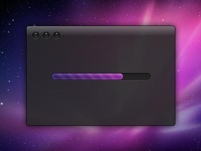 Dark UI - PSD Download by Jeff Broderick