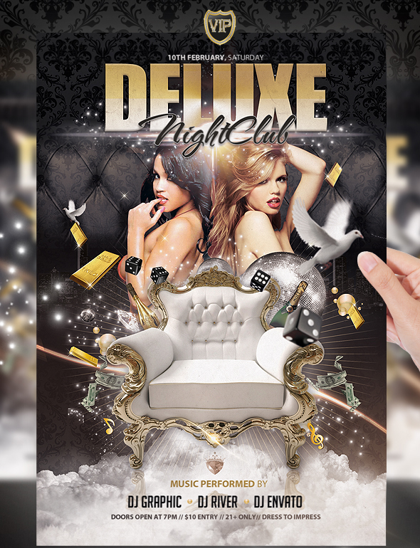 Deluxe-Party-Gold-Flyer