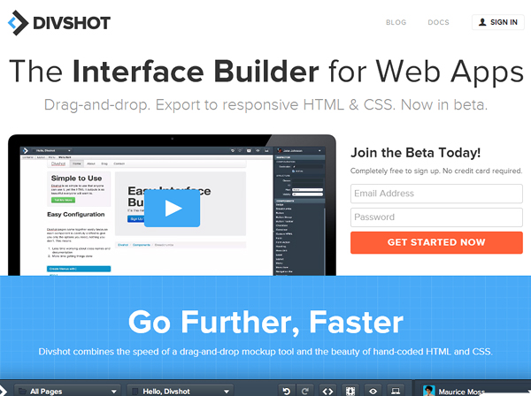 divshot 25 Beautiful and Inspiring Websites Using Bootstrap