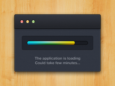 App loading by Alexandre Naud