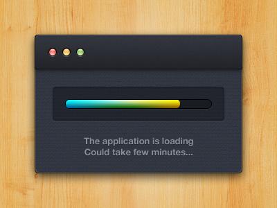 App loading by Alexandre Naud