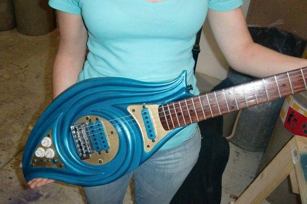 Custom Guitar by Jimena Rodríguez