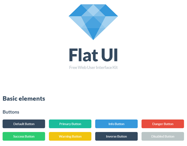 flat ui 25 Beautiful and Inspiring Websites Using Bootstrap